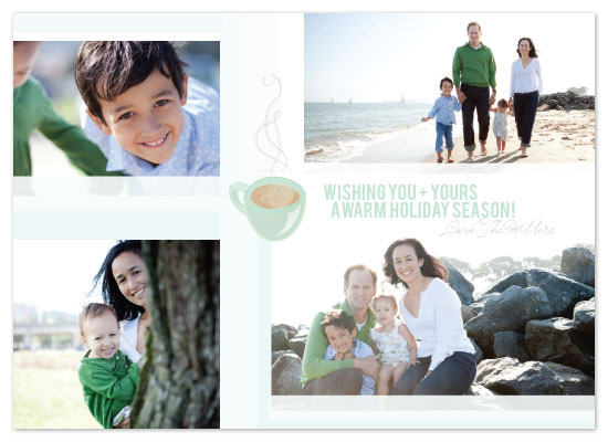 holiday photo cards - Warm Holiday Wishes by Julia