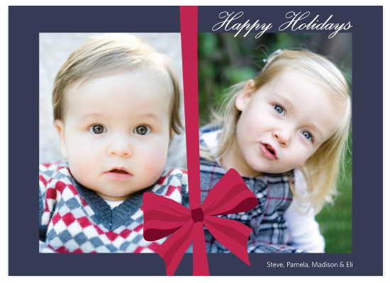holiday photo cards - The Best Gift by Red Turtle