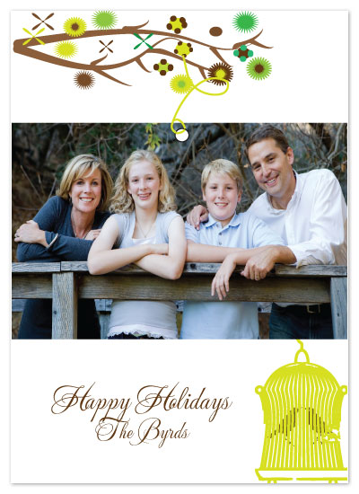 holiday photo cards - The Byrds! by Etched