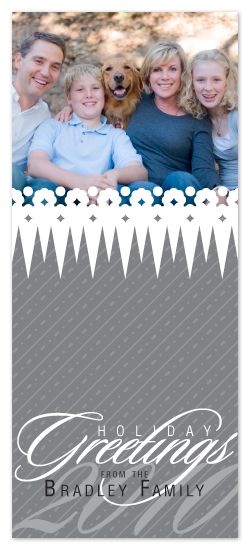 holiday photo cards - Frosty Peaks by Lizzy B Loves