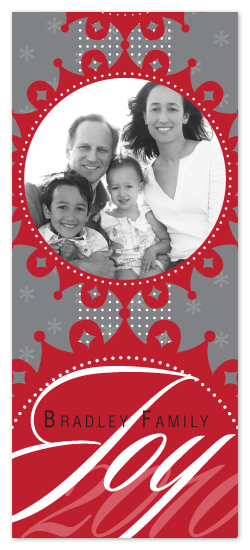 holiday photo cards - Joyous Snowflakes - Single by Lizzy B Loves