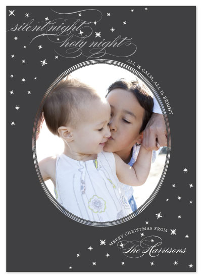holiday photo cards - Starry Night by Sarah Guse Brown
