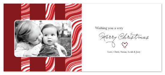 holiday photo cards - Very Merry Christmas by Julia