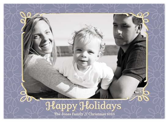 holiday photo cards - Happy Holidays by Amanda Claybrook