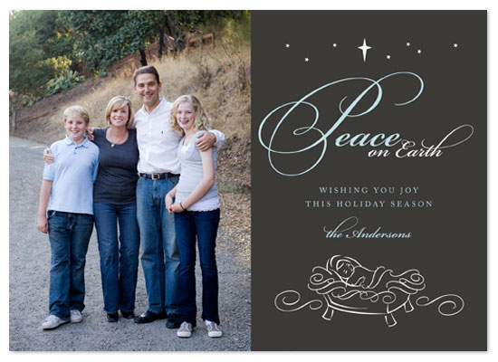 holiday photo cards - Baby Jesus by Jill Means