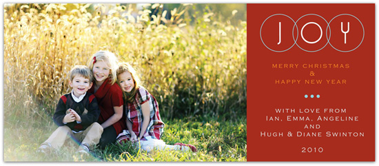holiday photo cards - Circle of Love by Everyday Greeting