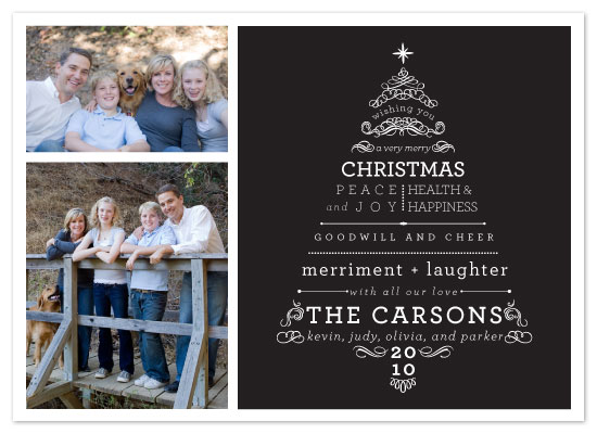 holiday photo cards - A Very Merry Christmas by Sarah Guse Brown
