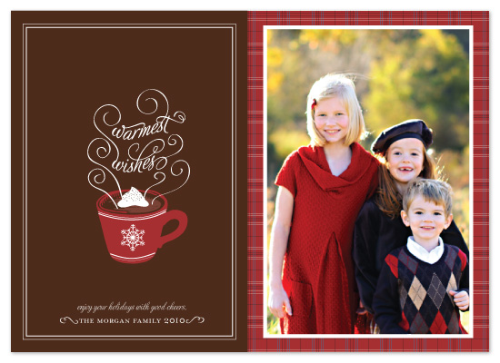 holiday photo cards - Hot Chocolate by Coco and Ellie Design