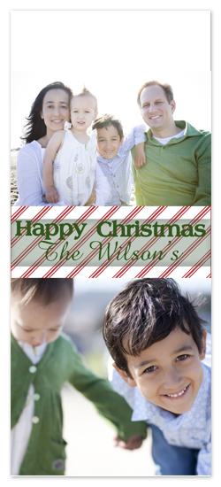 holiday photo cards - Happy Christmas by Caitlin Afton