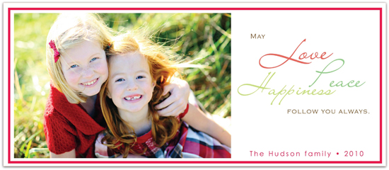 holiday photo cards - Simply Happiness  by Everyday Greeting