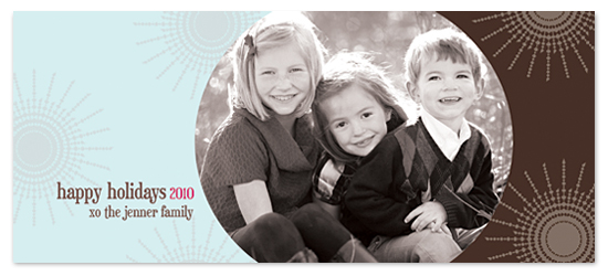 holiday photo cards - Icy Chocolate by MAGG + LOUIE
