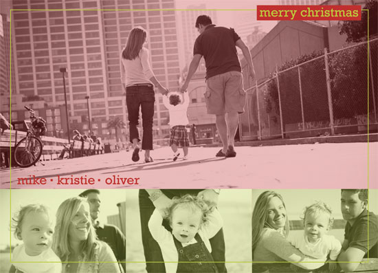 holiday photo cards - Modern Color by Rosemary Maritote