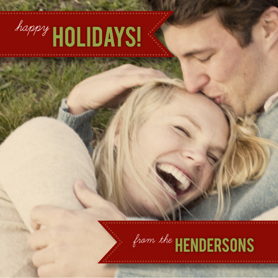 holiday photo cards - Wrapped by Angela Boroden