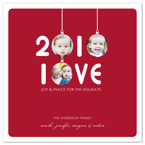 holiday photo cards - 2010 Love by Bella Expressions-Linda Birtel