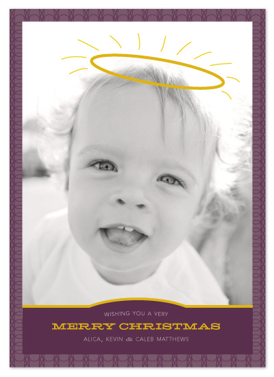 holiday photo cards - Our Little Angel by Sandy Pons