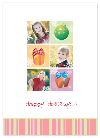 holiday photo cards - Cheerful Holidays by Janice.S