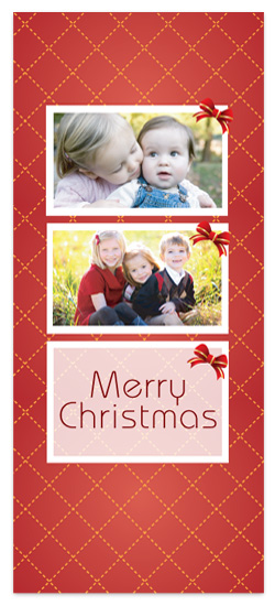 holiday photo cards - Red Christmas by Janice.S