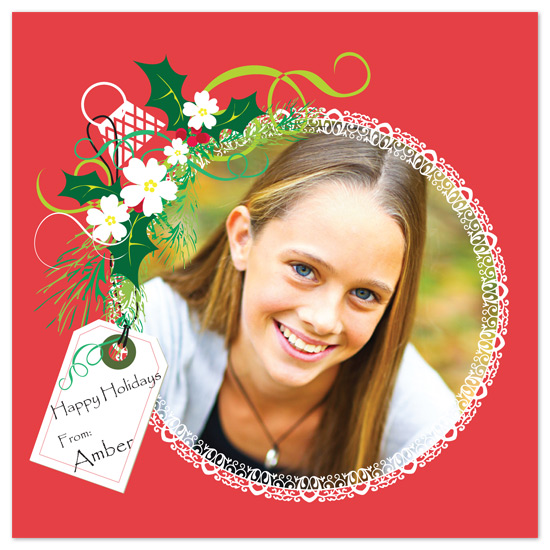 holiday photo cards - A Holiday Bulb by Jennifer C