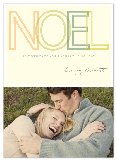 holiday photo cards - BIG noel by SimpleTe Design