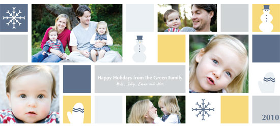 holiday photo cards - Winter Fun Holiday Photo Card by Katie Downs Carew