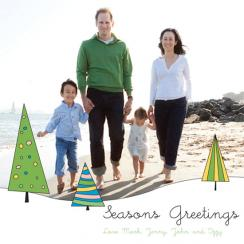 Seasons Greetings Treescape