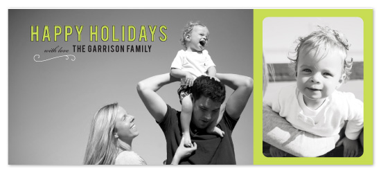 holiday photo cards - simple and happy by SimpleTe Design