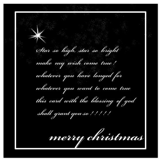 holiday photo cards - star wish by Pranshu Kumar Chaudhary