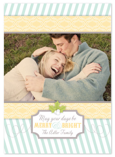 holiday photo cards - Bright Wishes by Mariah DeMarco