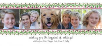 Holiday Garland Photo Card