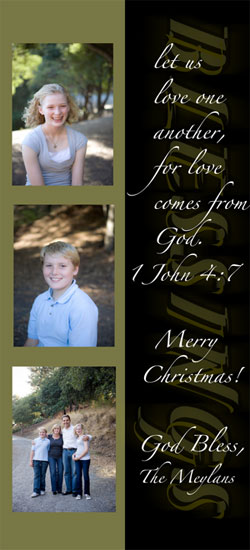 holiday photo cards - blessings by Danielle  Kasony