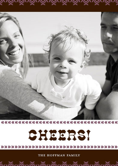 holiday photo cards - Antique Cheers by Neatnick Design
