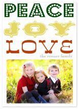 Peace, love & Joy by Epitome by Renner Design