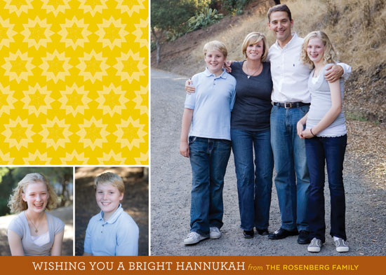 holiday photo cards - Bright Hannukah by Neatnick Design