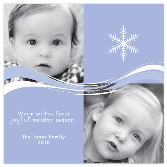 holiday photo cards - Joyful Snow by Beverly Surratt