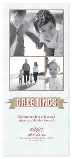 holiday photo cards - Sweet Greetings by Amanda Claybrook
