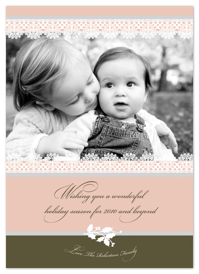 holiday photo cards - Family togetherness by Chamelle Designs
