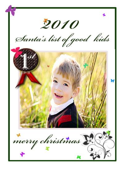 holiday photo cards - santa's list by Pranshu Kumar Chaudhary