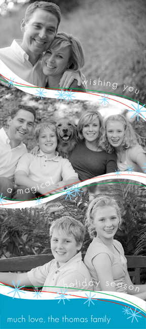 holiday photo cards - Magical Holiday by Pauselius