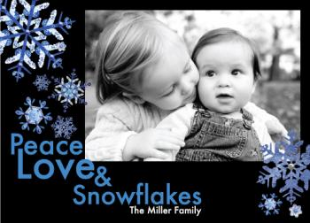 Peace, Love & Snowflakes