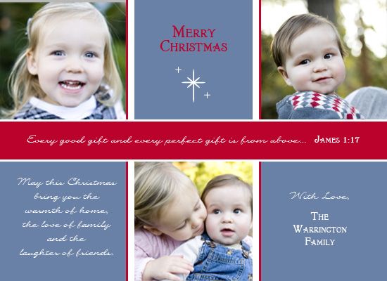 holiday photo cards - Gifts From Above by Maxeli Designs