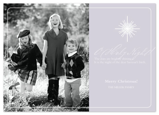 holiday photo cards - O Holy Night by Julia