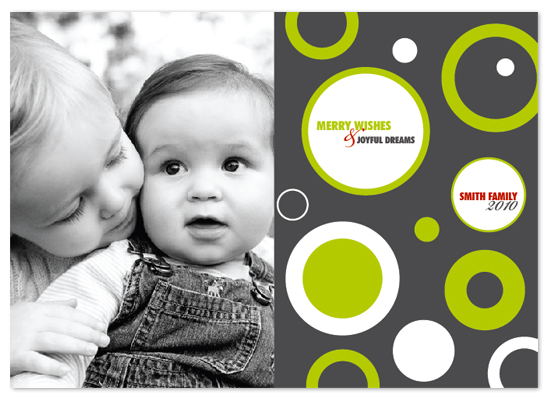 holiday photo cards - Modern and merry by Trendy Peas