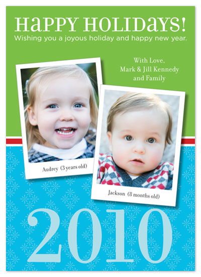 holiday photo cards - Holiday Polaroids by Rachel Barnes