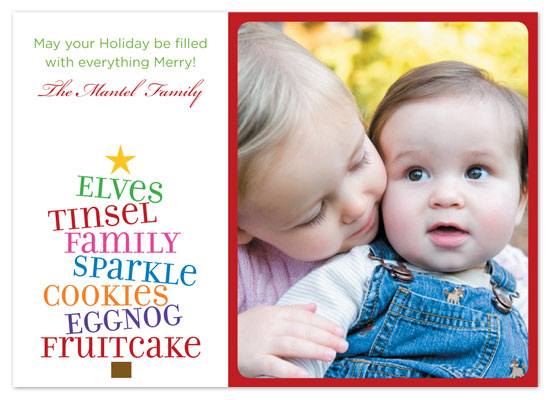 holiday photo cards - Everything Merry by Rachel Barnes