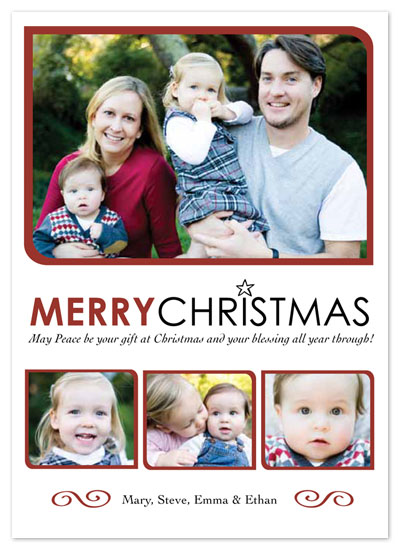 holiday photo cards - Simple Christmas by Annalisha Johnson