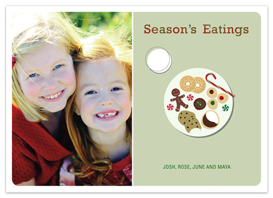 holiday photo cards - Season's Eatings by Kelly Nasuta