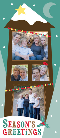 holiday photo cards - Home for the Holidays by Kimberly Schwede