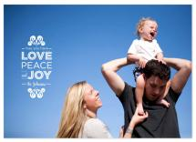 Love Peace and Joy by 175DesignStudio