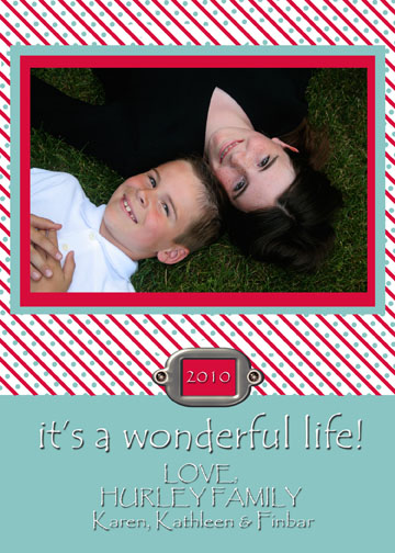 holiday photo cards - Candy Cane Fun by Karen Hurley