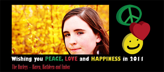 holiday photo cards - Peace, Love & Happiness V2 by Karen Hurley